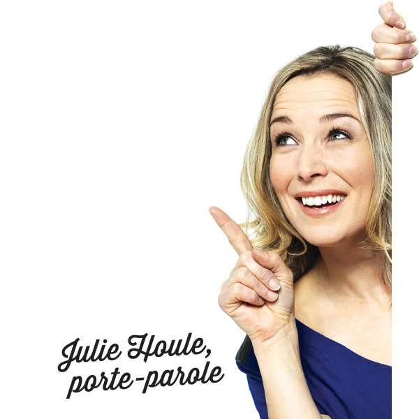 Julie Houle – Porte-parole