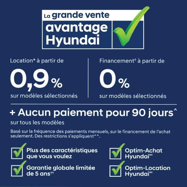 La grande vente Avantage Hyundai
