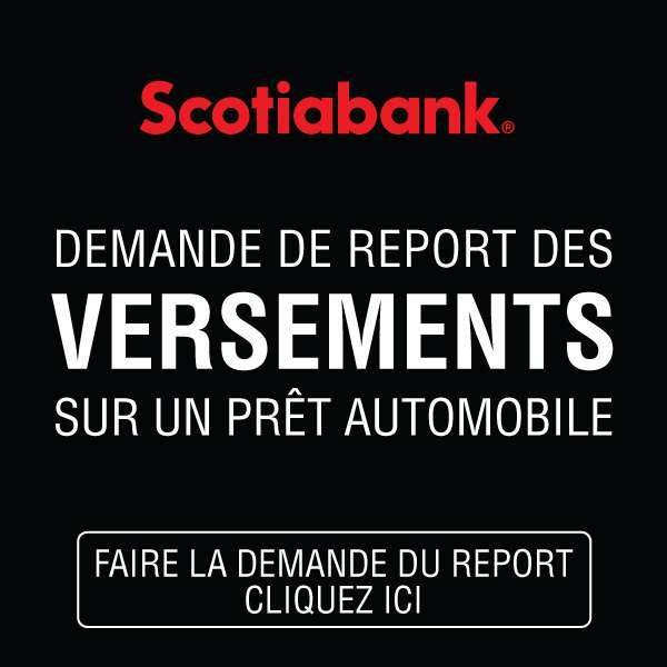 Demande de report des versements – Scotiabank